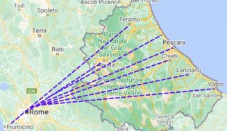 How to get from Rome to Abruzzo?