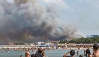 Fires scorch Abruzzo
